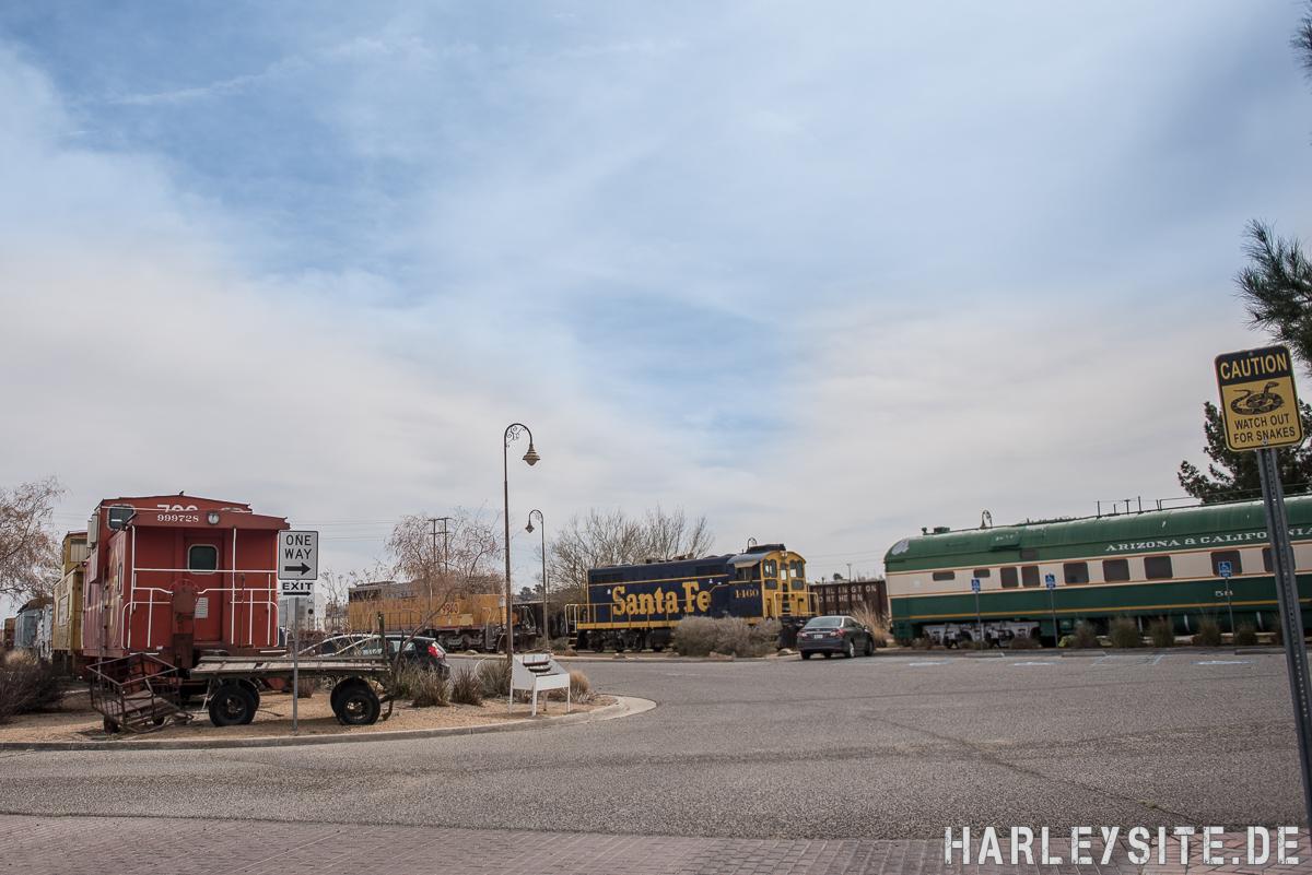 Route 66 Sackbahnhof