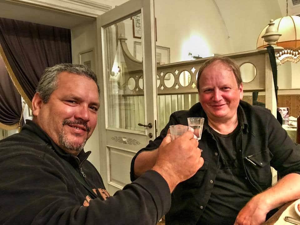 Zusammen mit Ernesto Guevara in Russland
