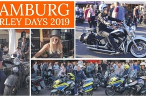 Collage von den Hamburg Harley Days 2019