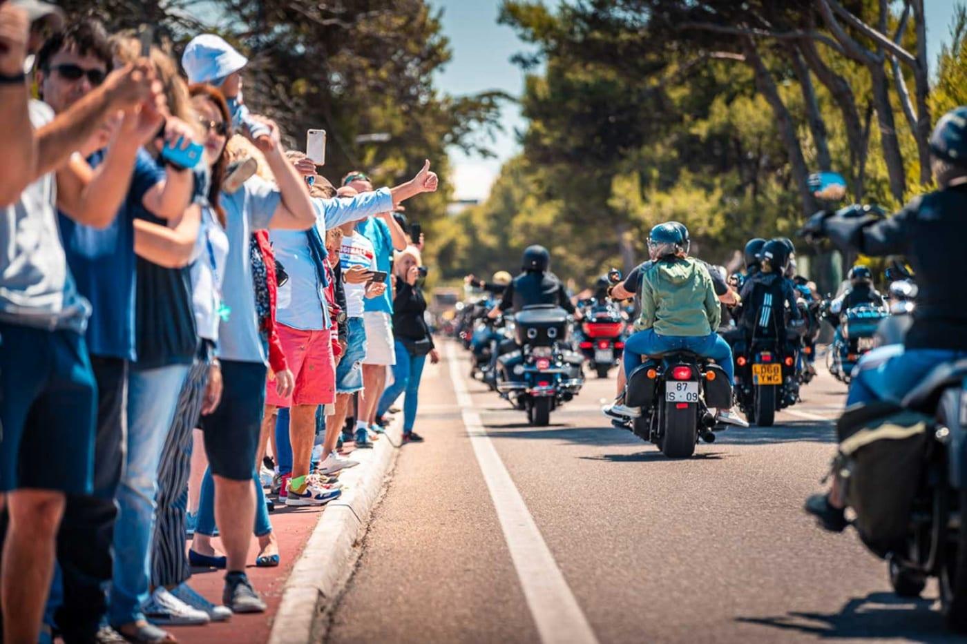 Bei bestem Wetter, fand in Portugal die jährliche European H.O.G. Rally statt 1