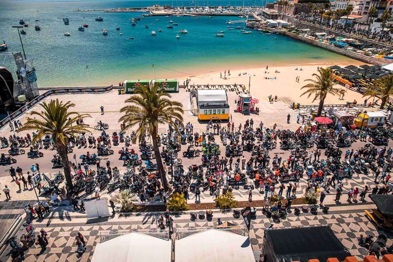 Bei bestem Wetter, fand in Portugal die jährliche European H.O.G. Rally statt