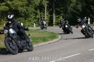 Harley-Davidson & Michelin Scorcher Test Ride