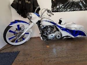 Gestohlenen Harley DavidsonHarley KÜN-BD 9