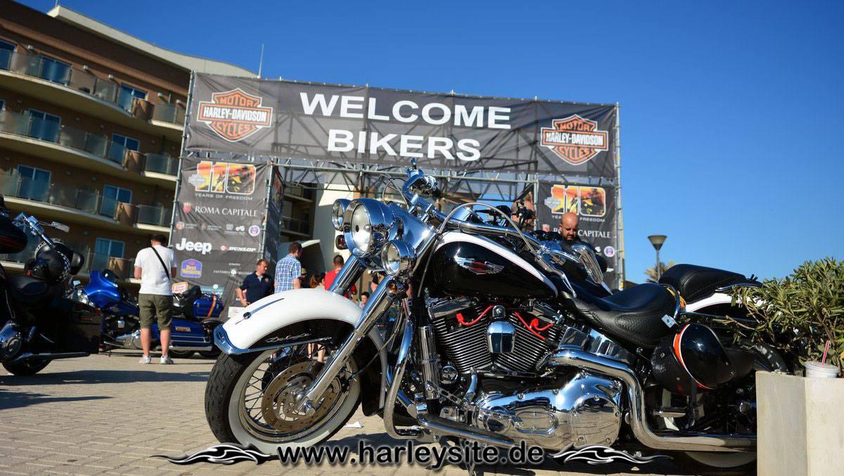 Harley 110th Rom Ostia 1
