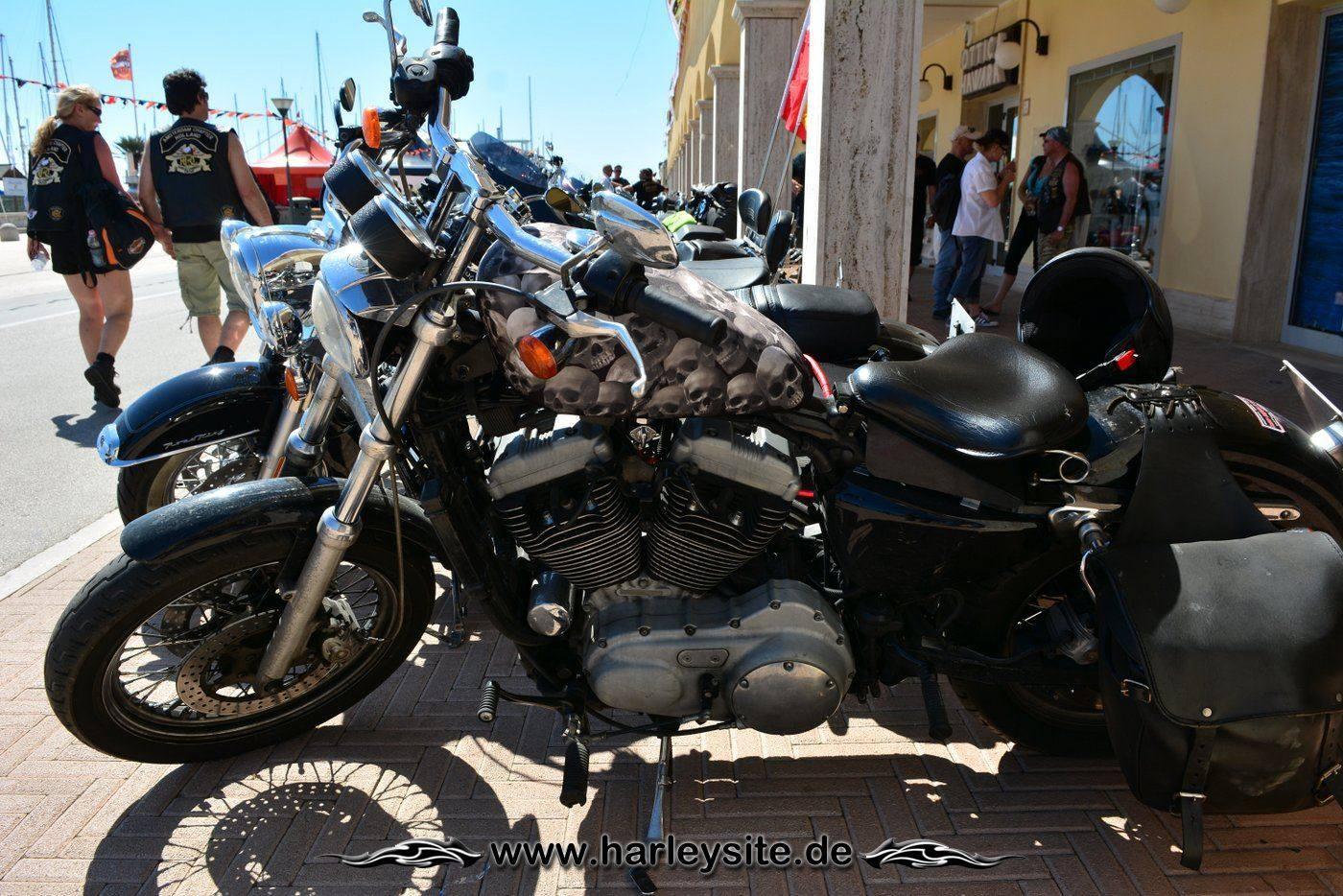Harley 110th Rom Ostia 103