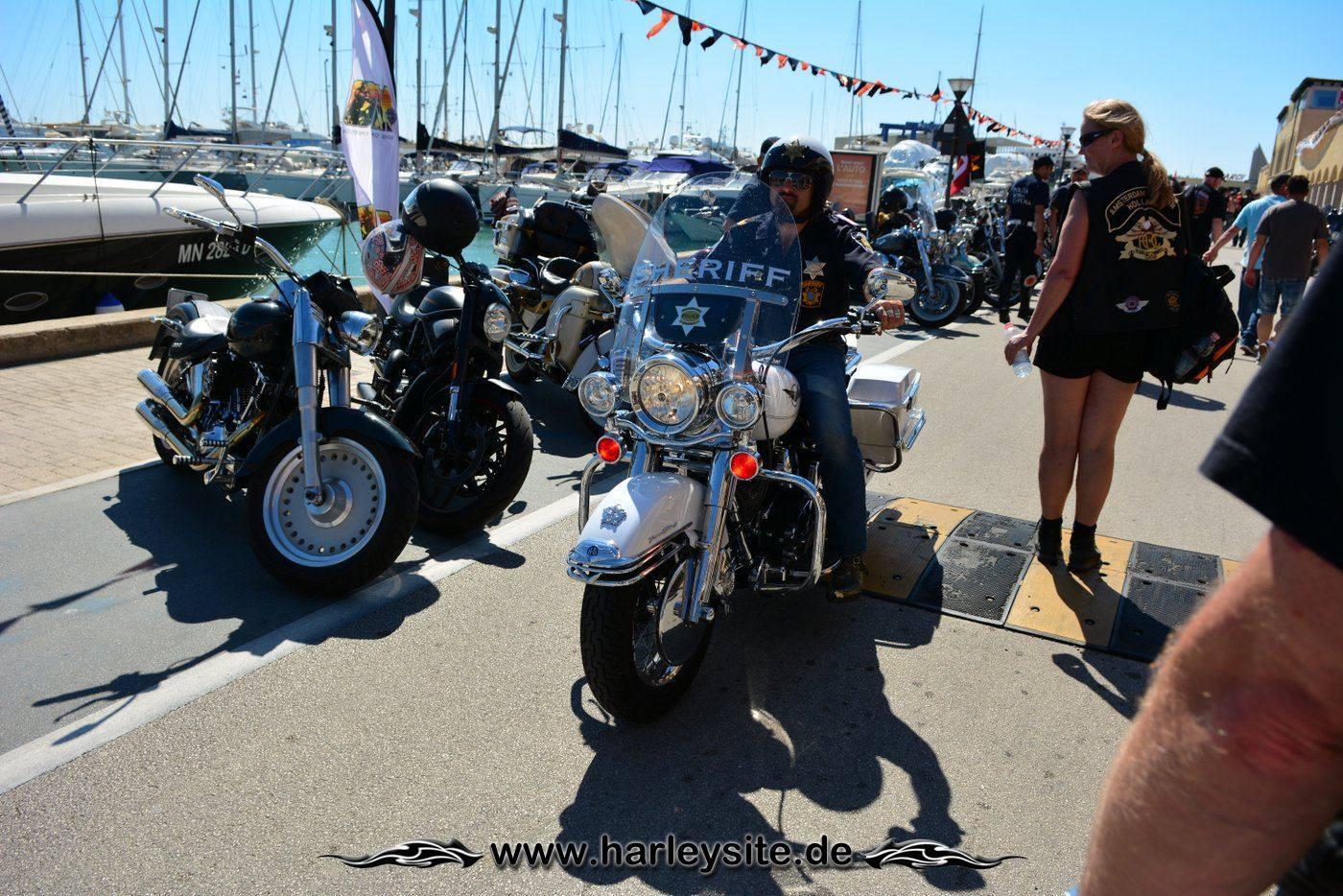 Harley 110th Rom Ostia 113