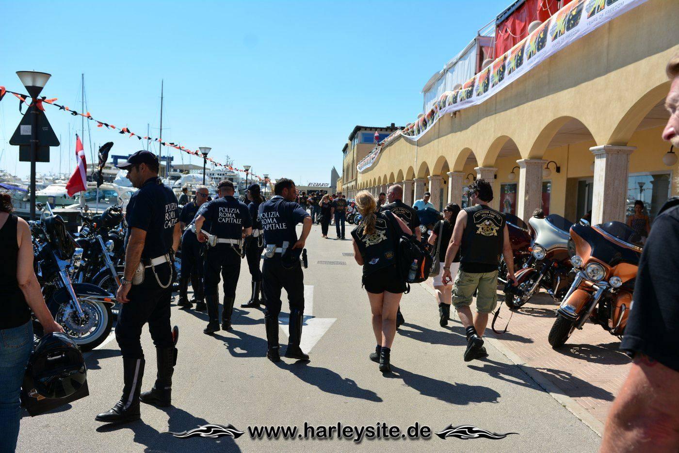 Harley 110th Rom Ostia 115