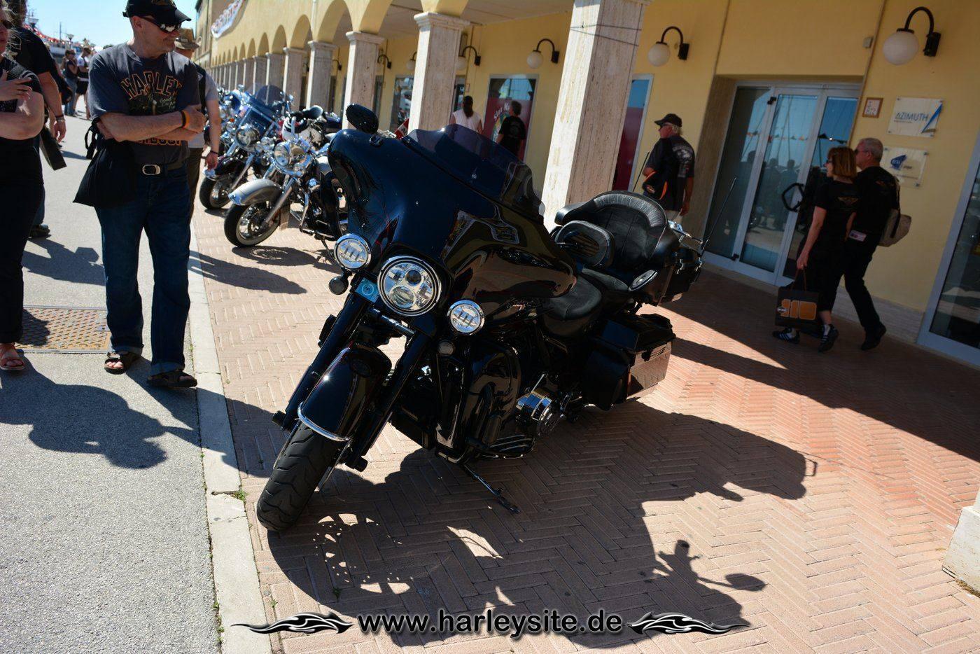 Harley 110th Rom Ostia 116