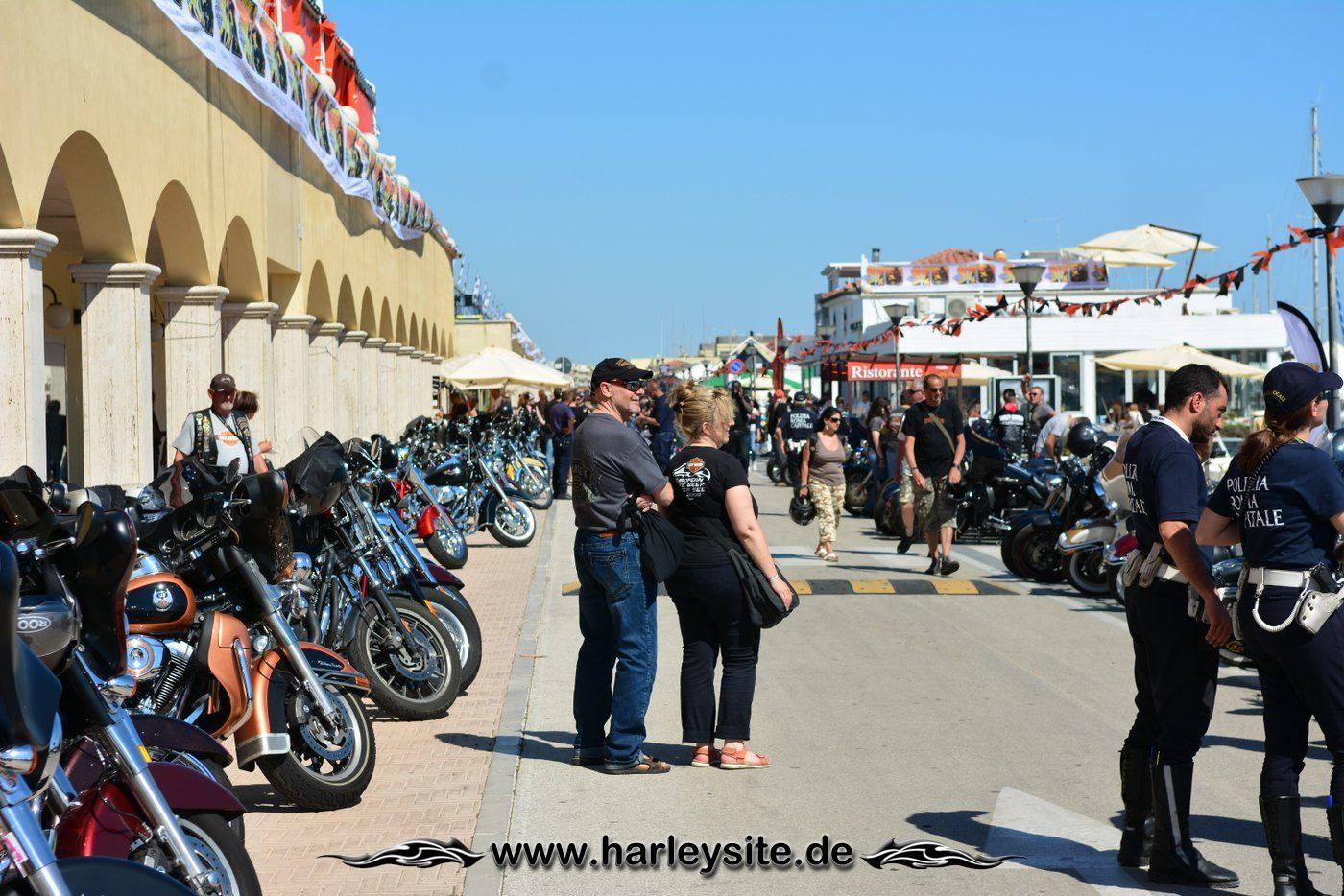 Harley 110th Rom Ostia 118