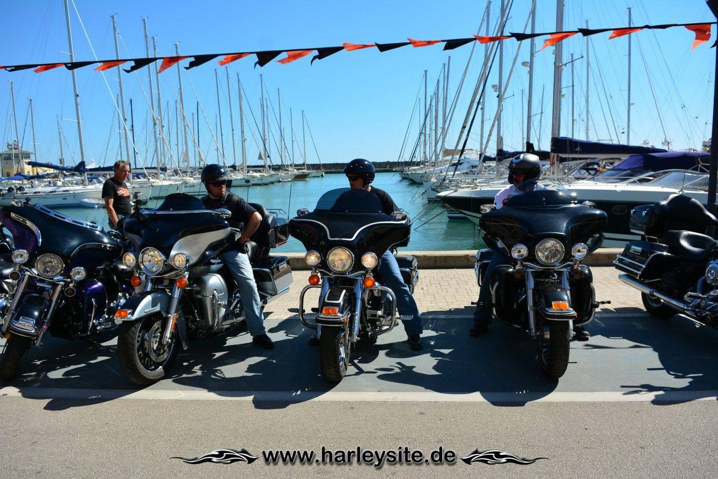 Harley 110th Rom Ostia 119