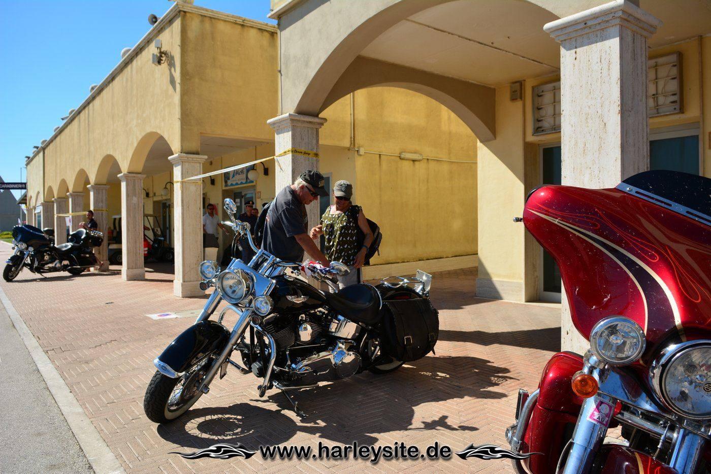 Harley 110th Rom Ostia 120