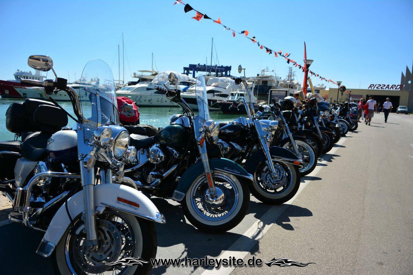 Harley 110th Rom Ostia 123