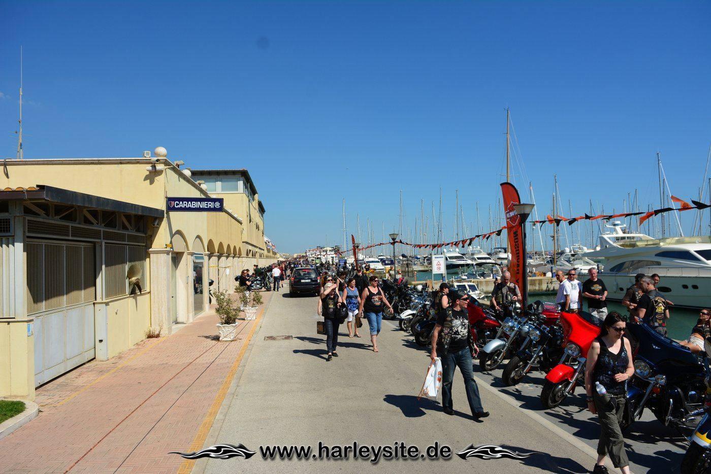 Harley 110th Rom Ostia 124