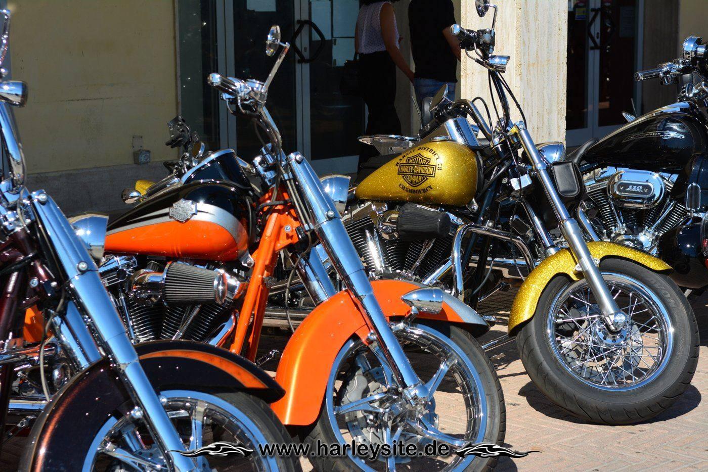 Harley 110th Rom Ostia 128