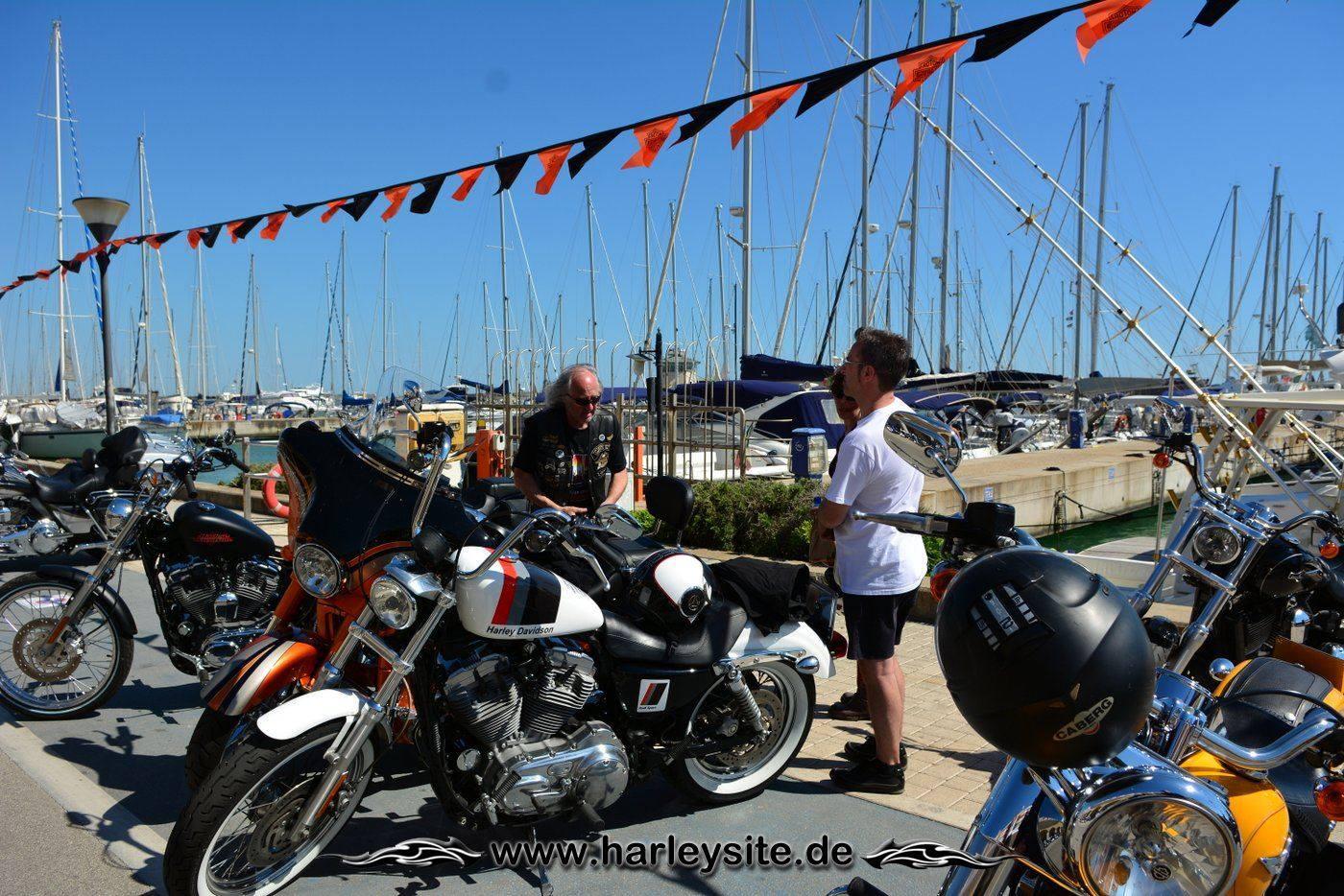 Harley 110th Rom Ostia 130
