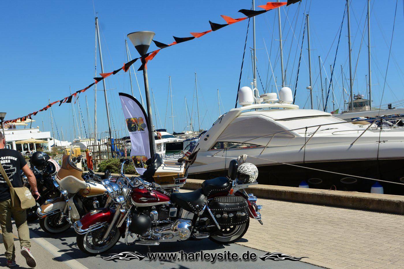 Harley 110th Rom Ostia 135