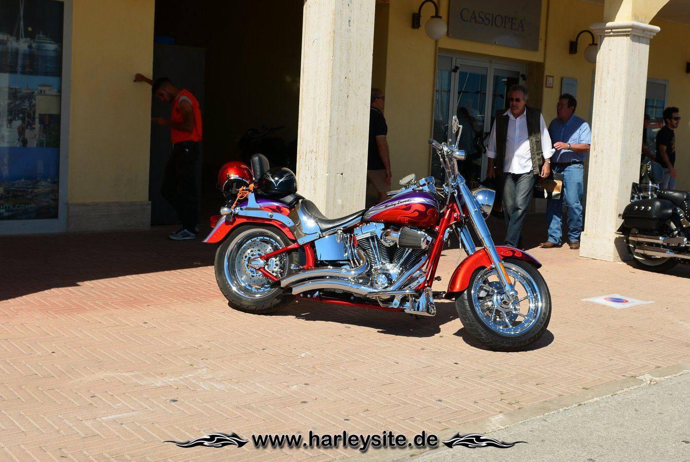 Harley 110th Rom Ostia 136