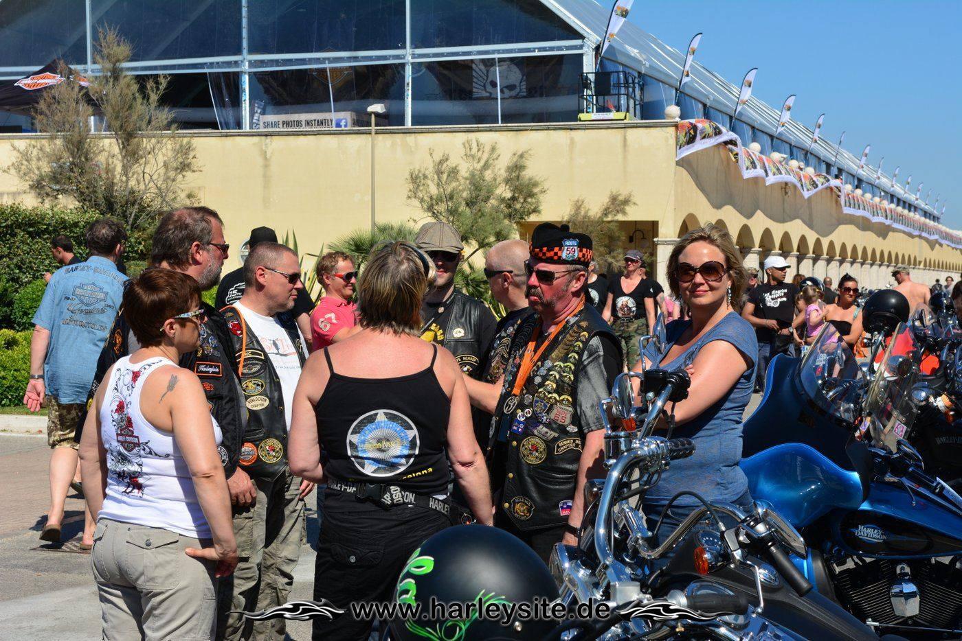 Harley 110th Rom Ostia 141