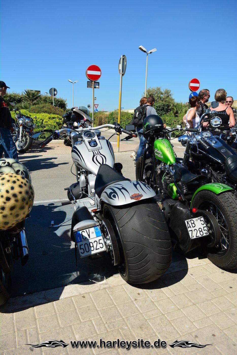 Harley 110th Rom Ostia 144
