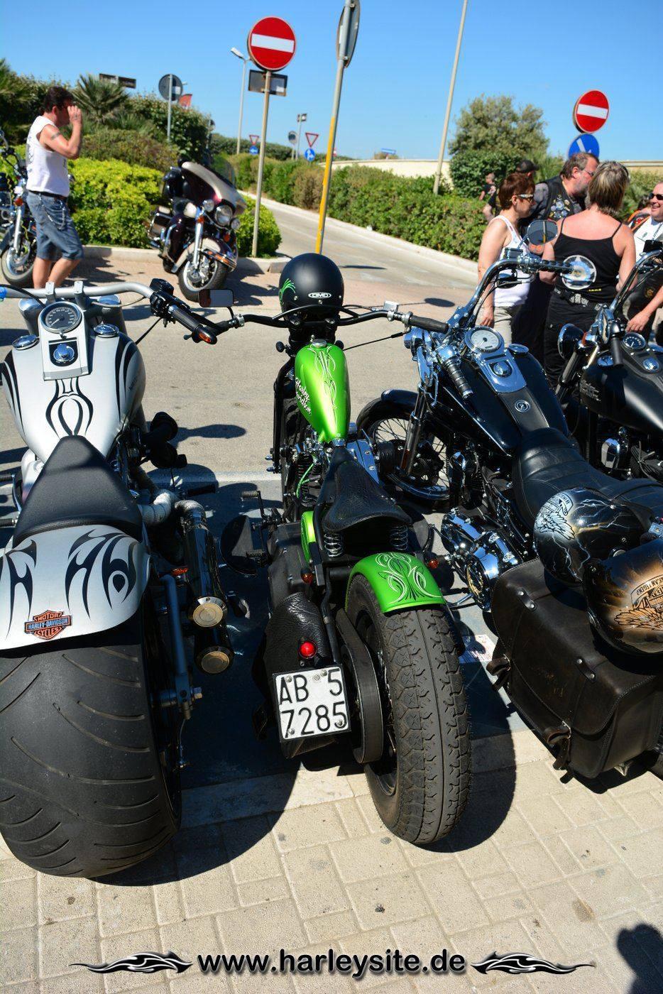 Harley 110th Rom Ostia 145