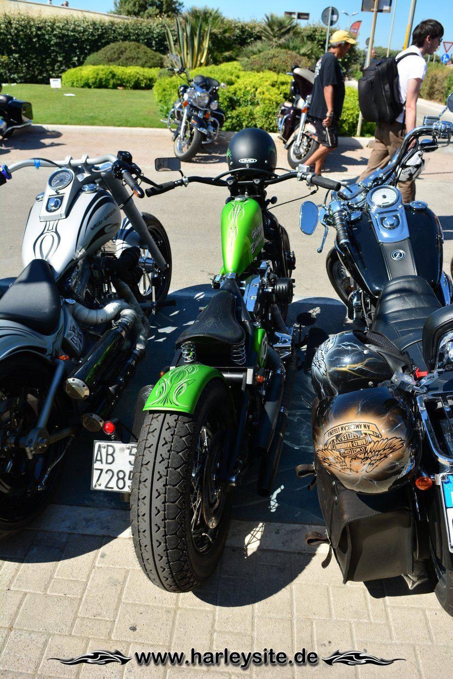 Harley 110th Rom Ostia 146