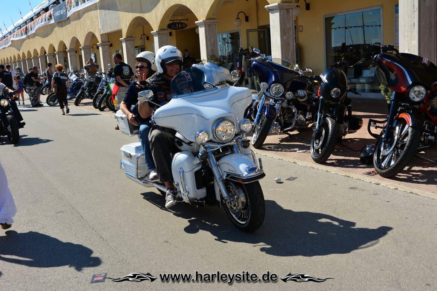 Harley 110th Rom Ostia 158