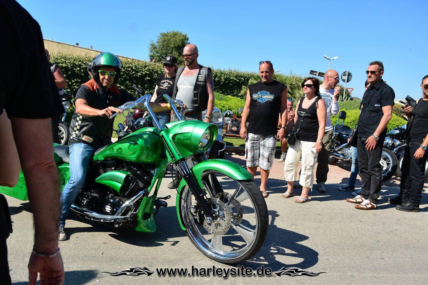 Harley 110th Rom Ostia 160