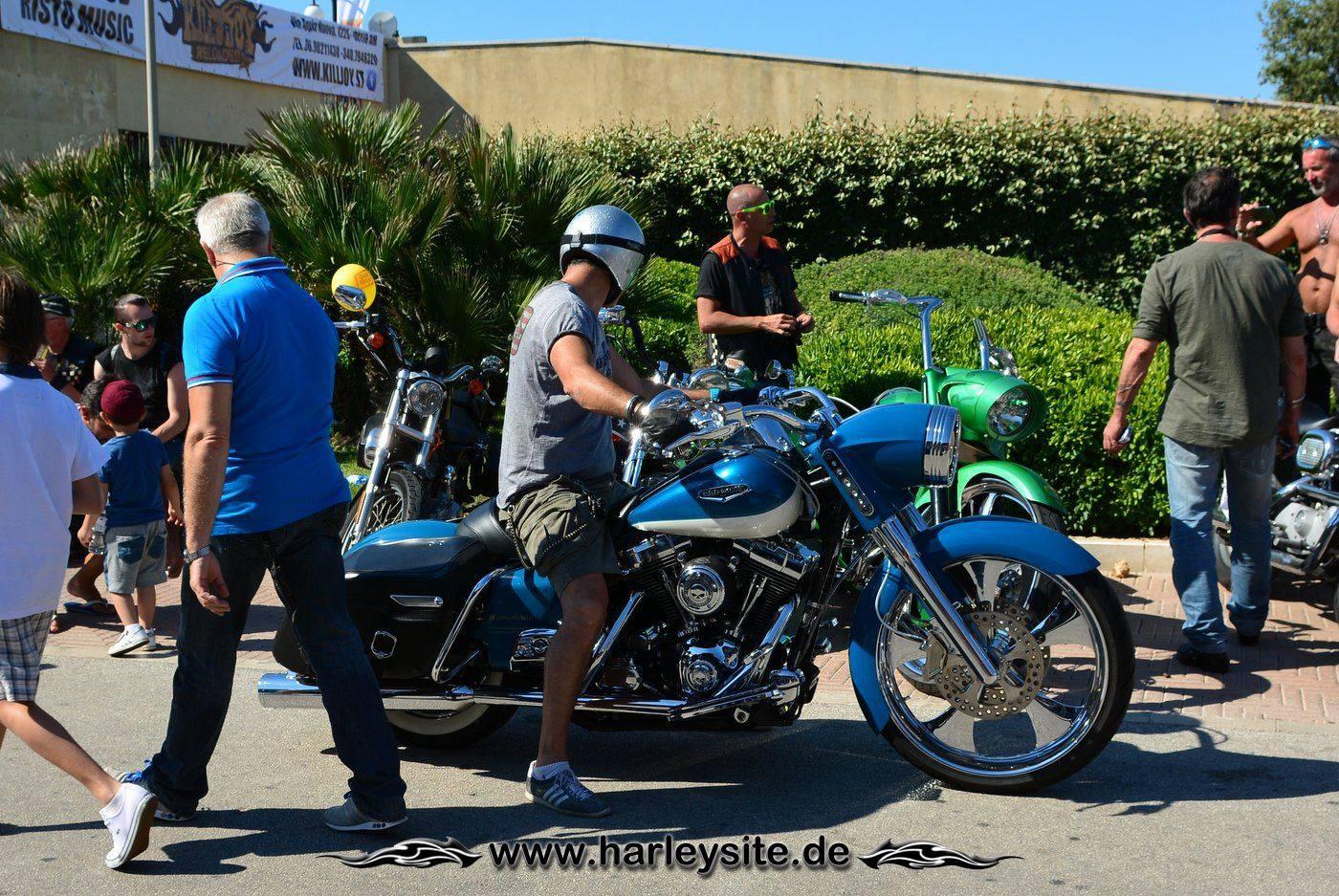 Harley 110th Rom Ostia 161