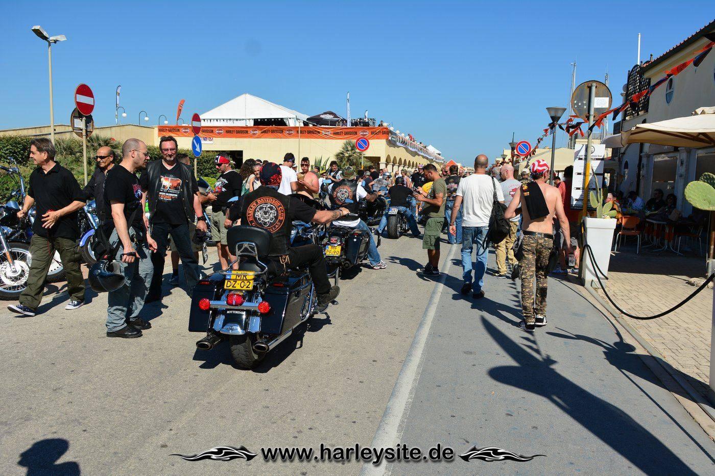 Harley 110th Rom Ostia 168