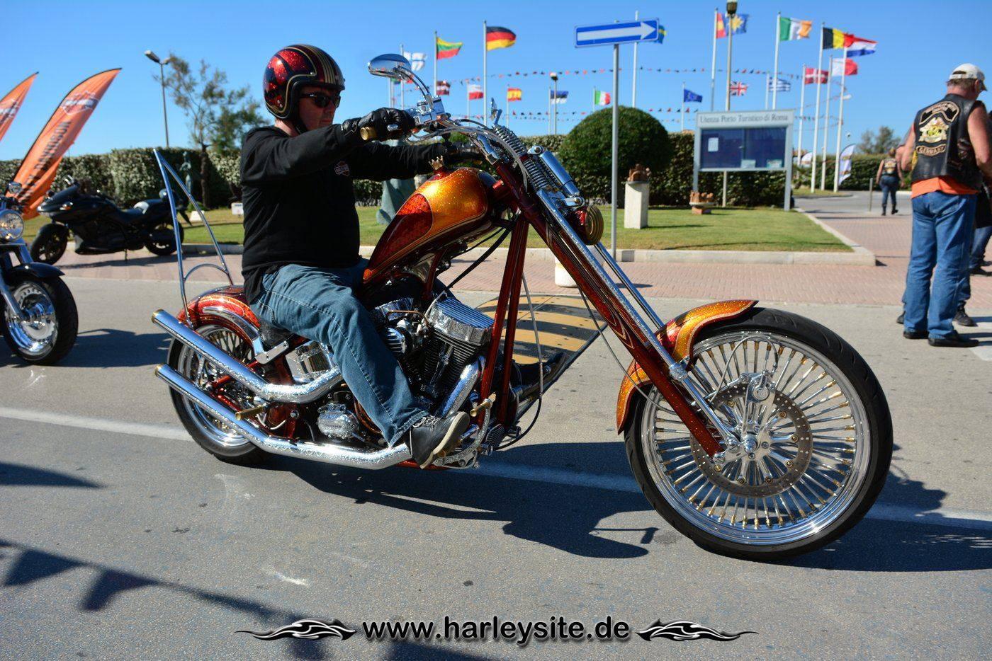 Harley 110th Rom Ostia 176