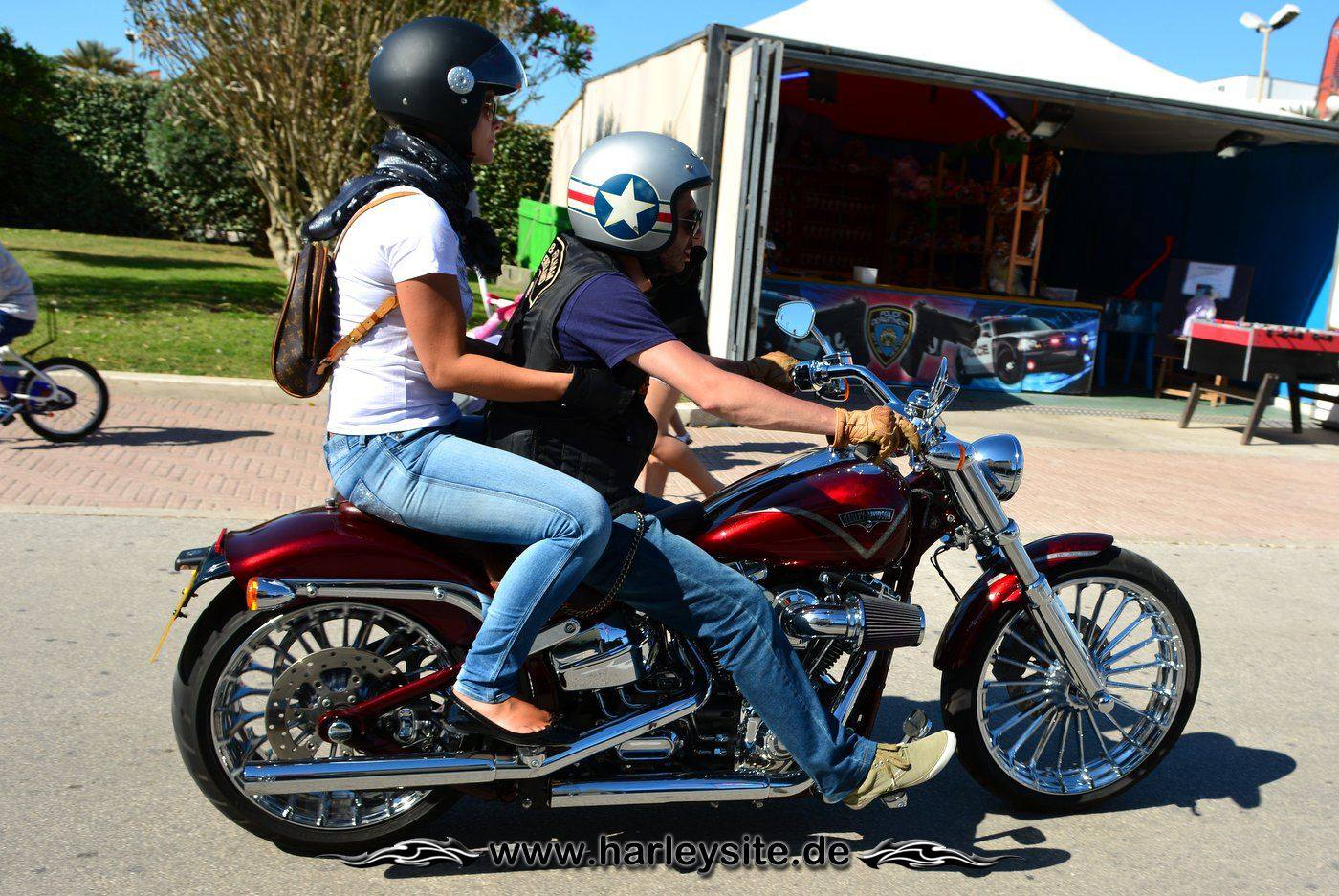 Harley 110th Rom Ostia 178