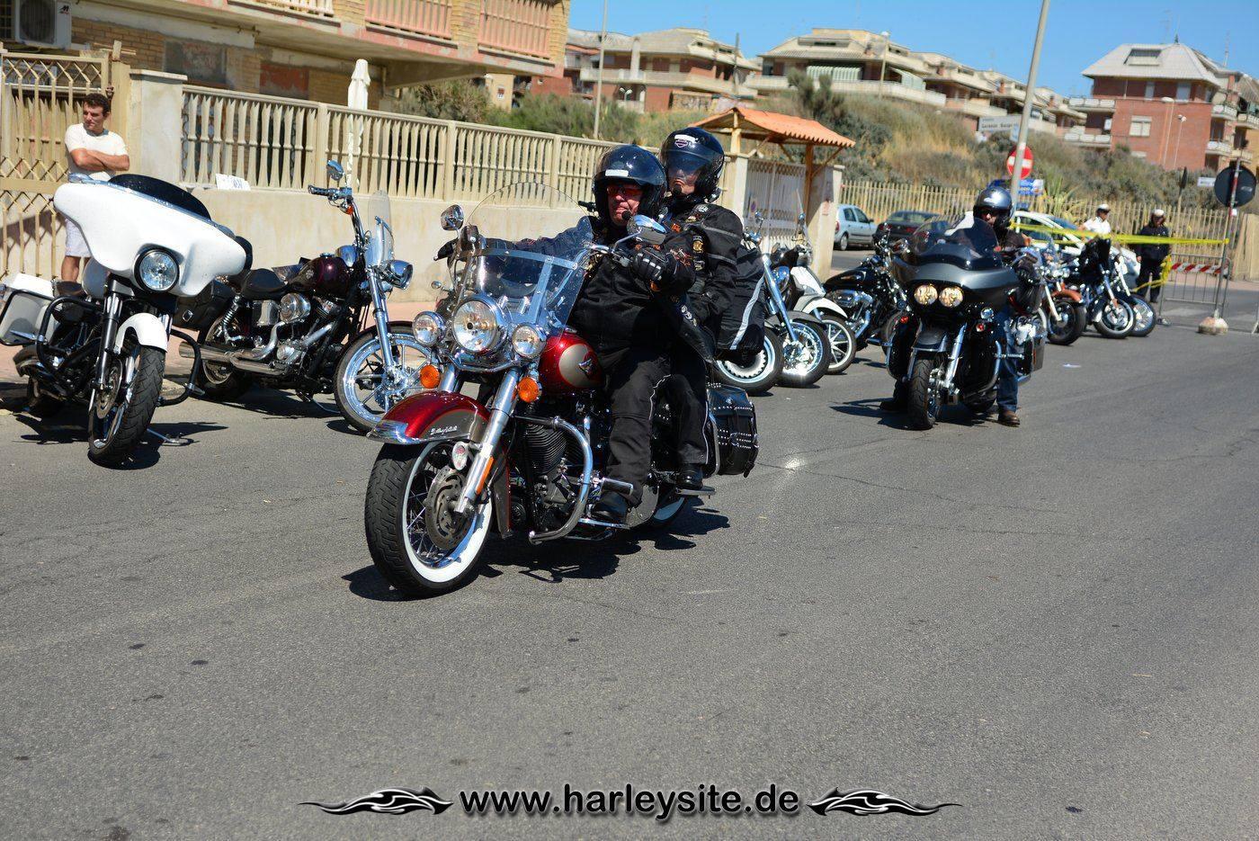 Harley 110th Rom Ostia 18