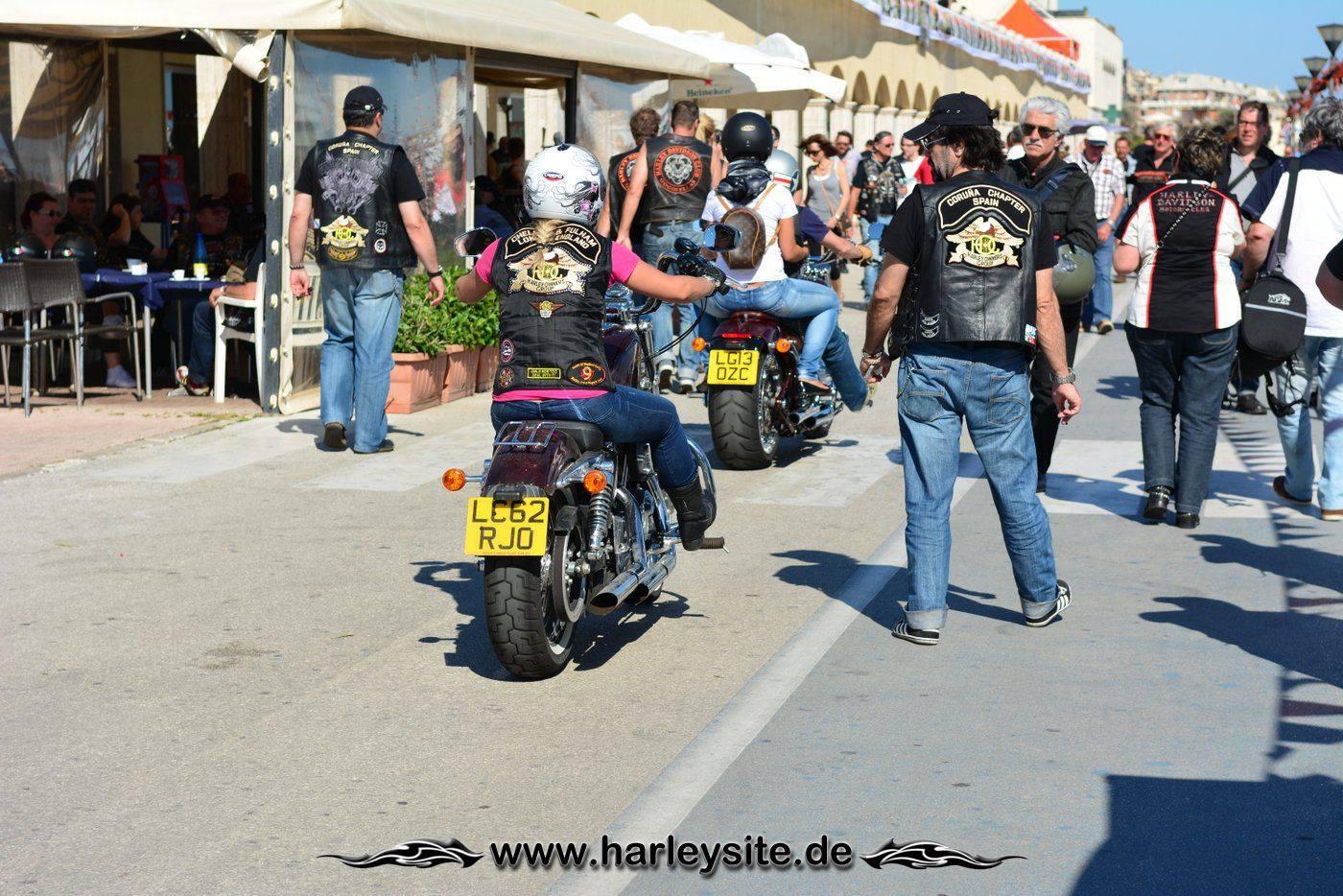 Harley 110th Rom Ostia 180