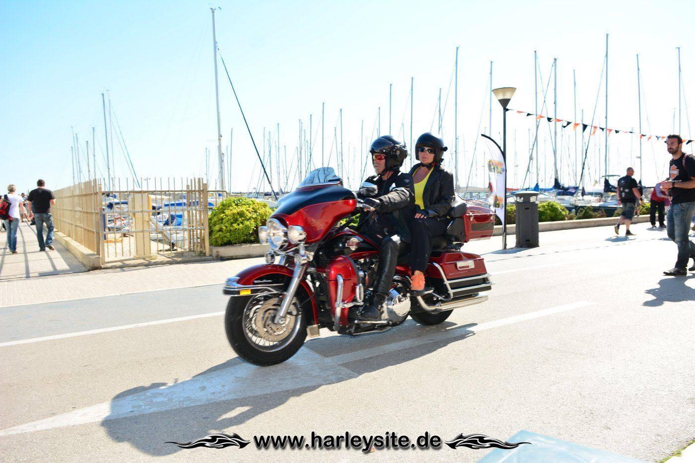 Harley 110th Rom Ostia 183