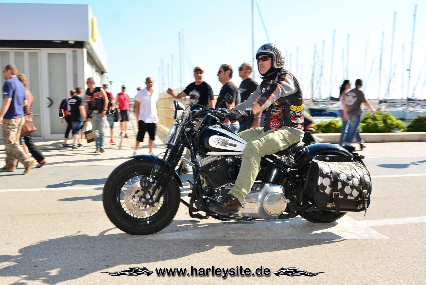 Harley 110th Rom Ostia 187