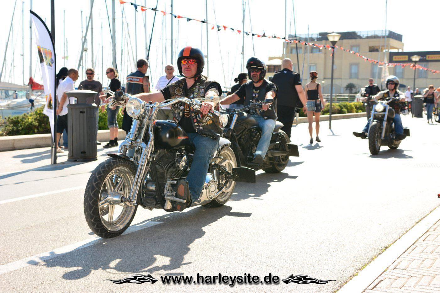 Harley 110th Rom Ostia 188