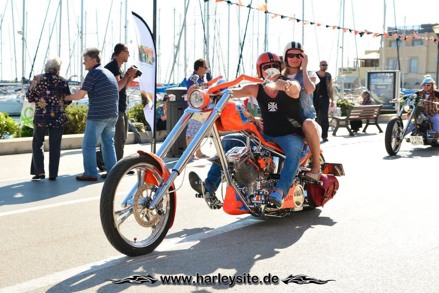 Harley 110th Rom Ostia 190
