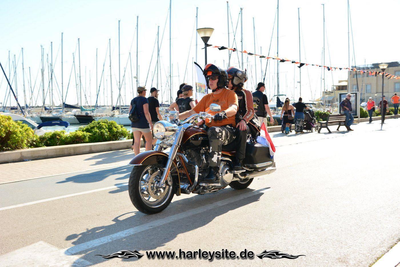 Harley 110th Rom Ostia 199