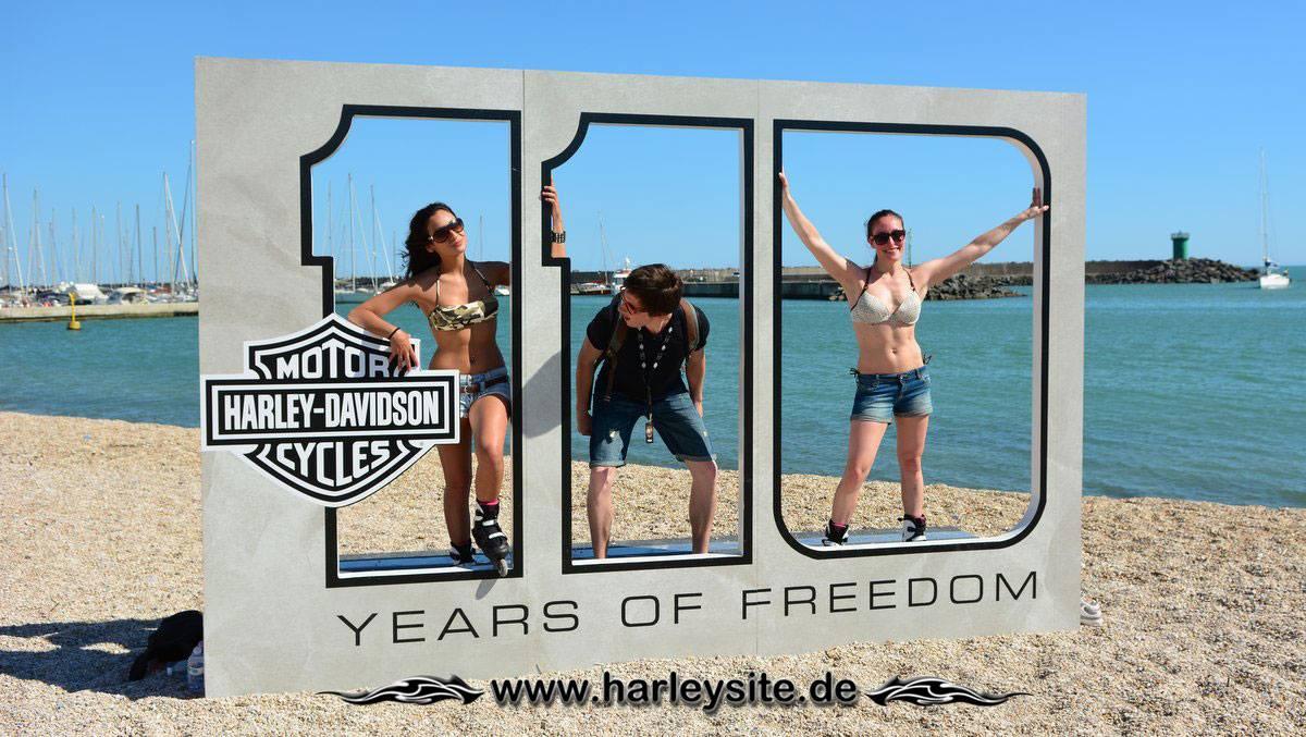 Harley 110th Rom Ostia 2