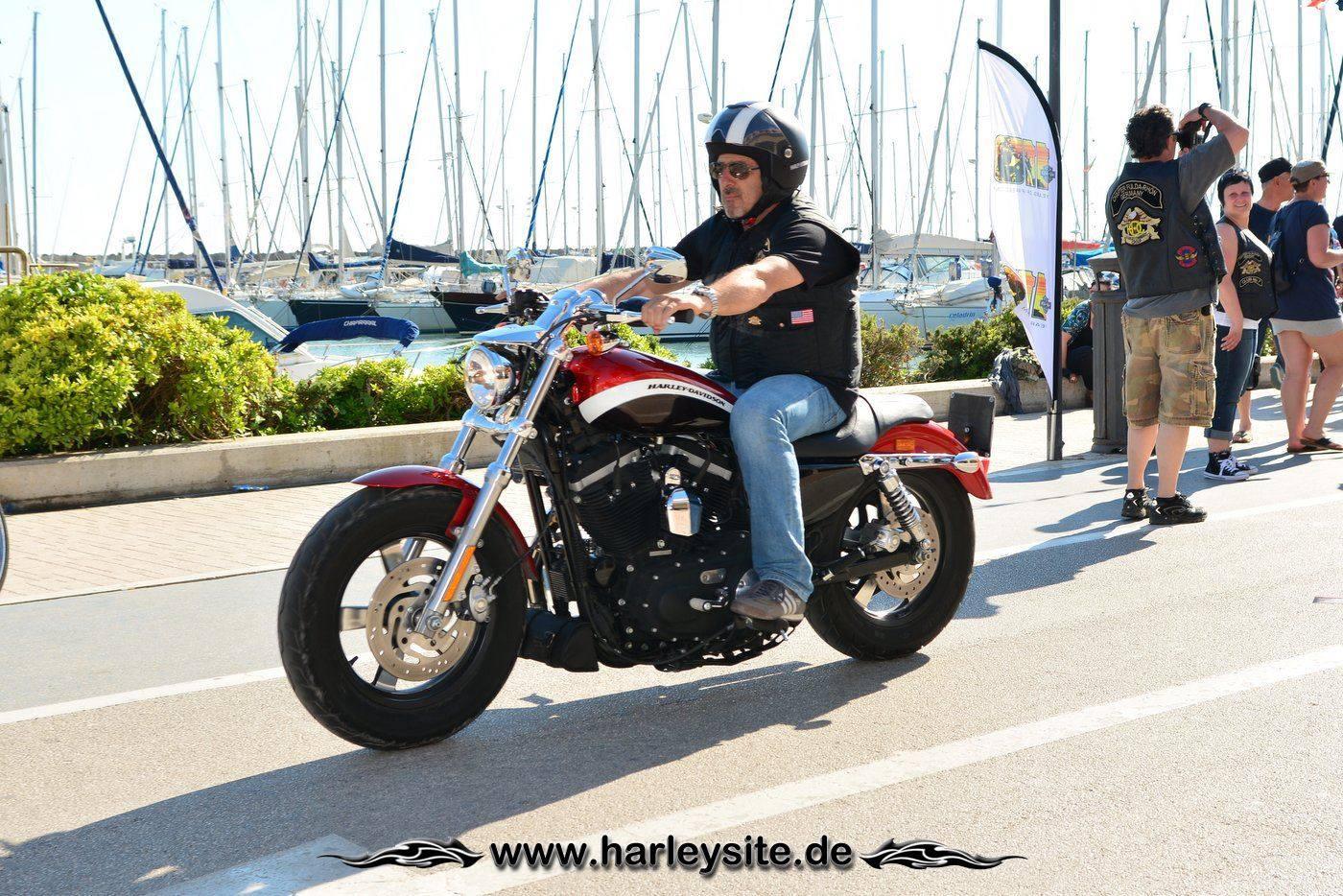 Harley 110th Rom Ostia 201