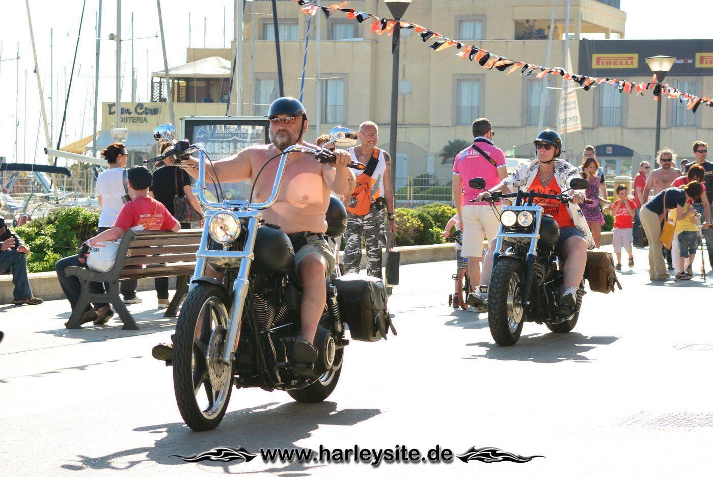 Harley 110th Rom Ostia 205