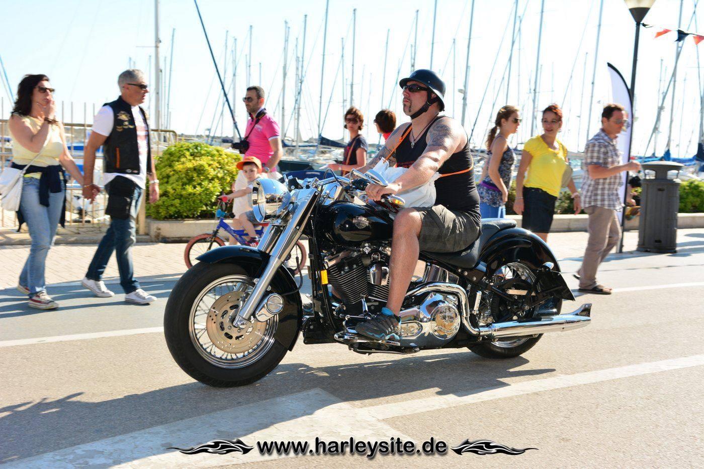 Harley 110th Rom Ostia 208