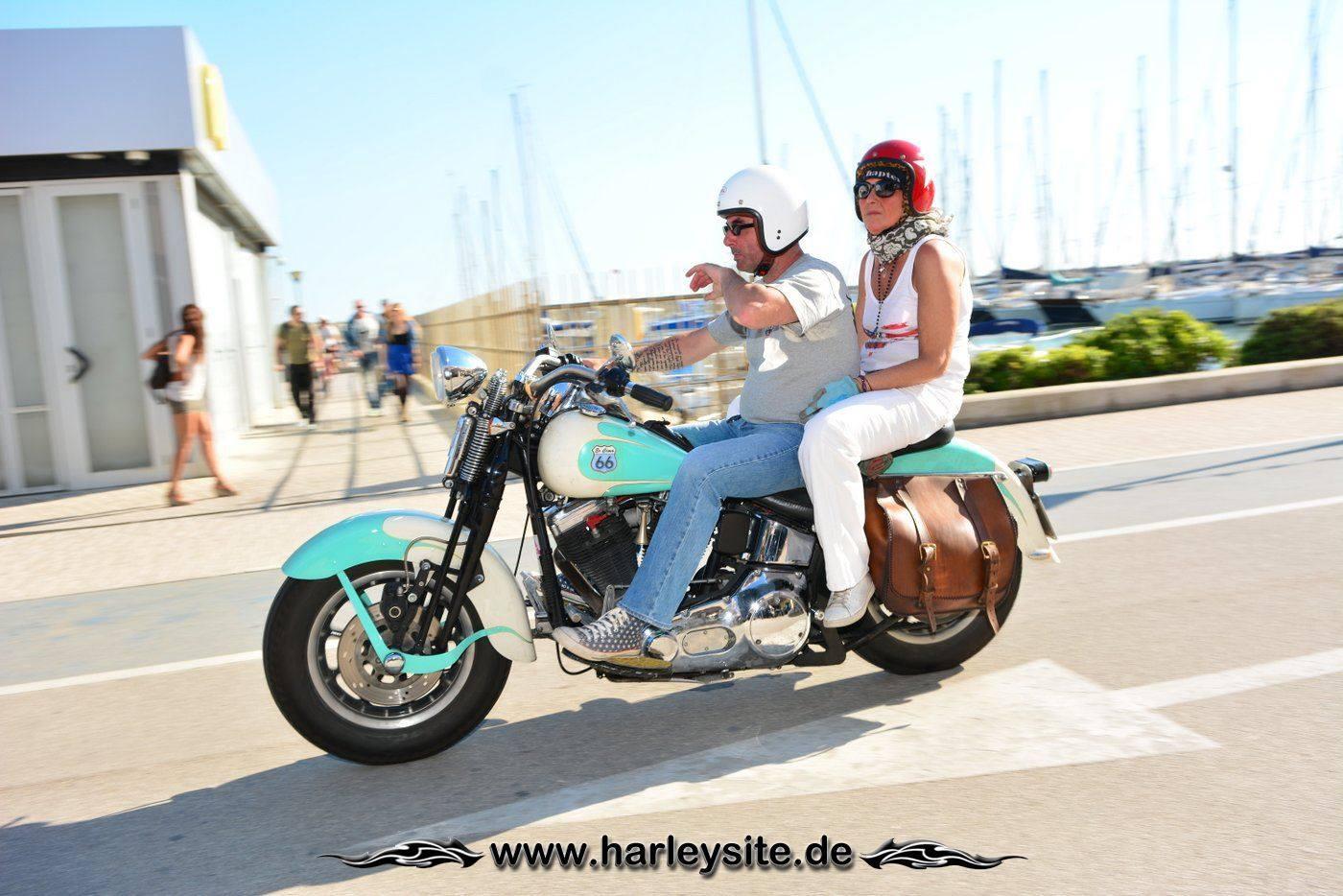 Harley 110th Rom Ostia 209