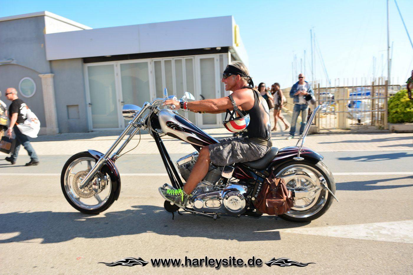 Harley 110th Rom Ostia 211