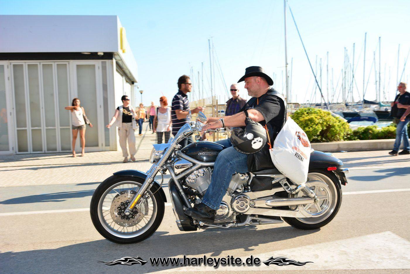 Harley 110th Rom Ostia 214