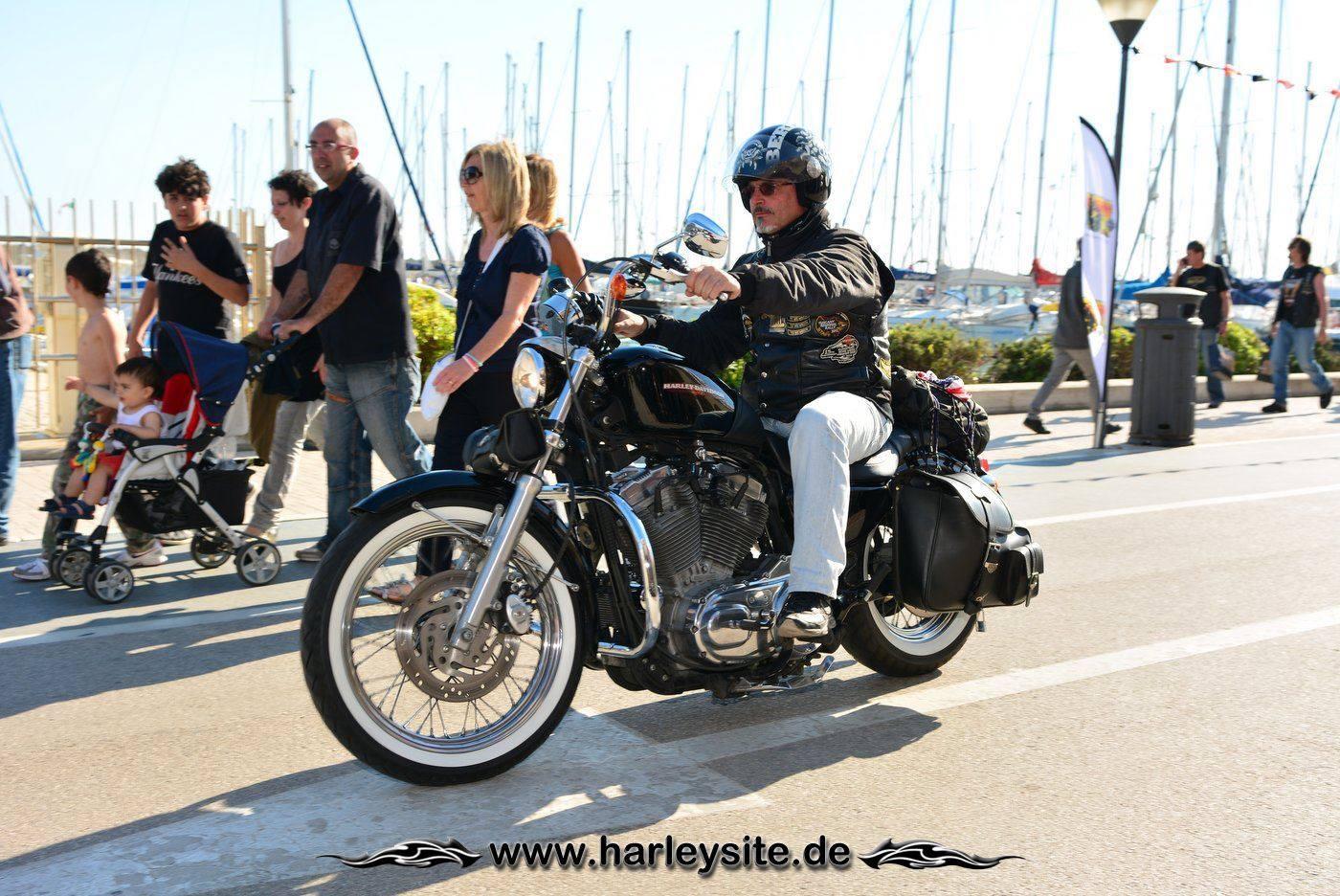Harley 110th Rom Ostia 220