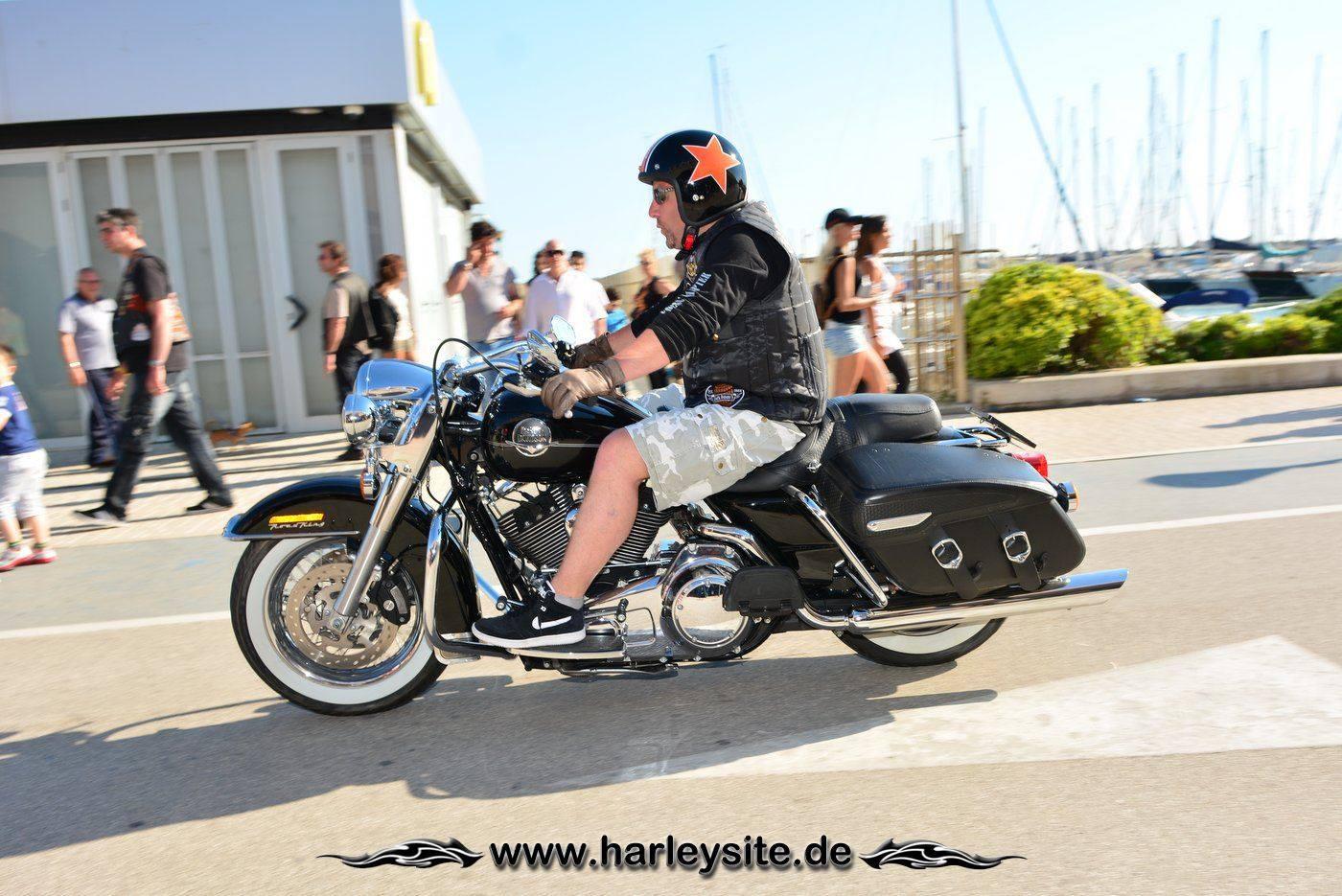 Harley 110th Rom Ostia 222