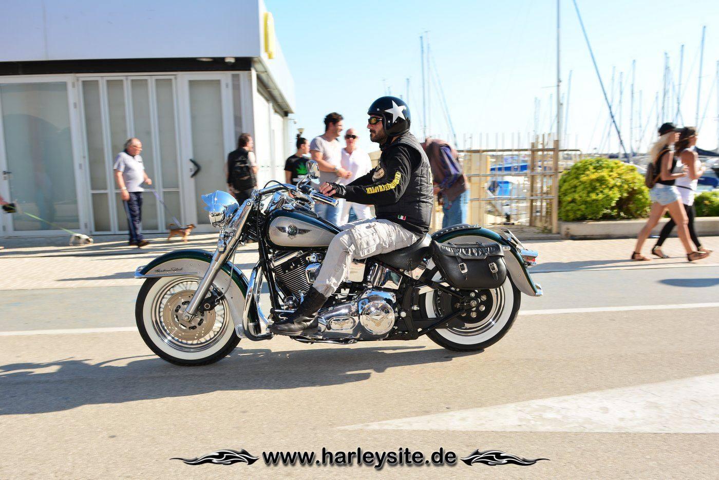 Harley 110th Rom Ostia 223
