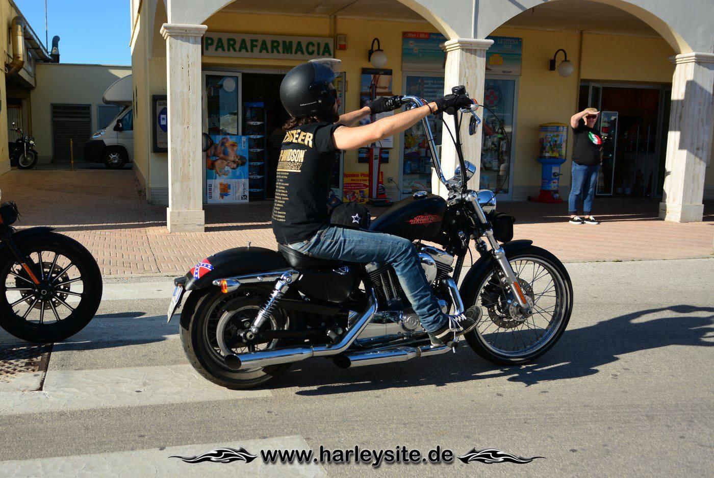 Harley 110th Rom Ostia 227