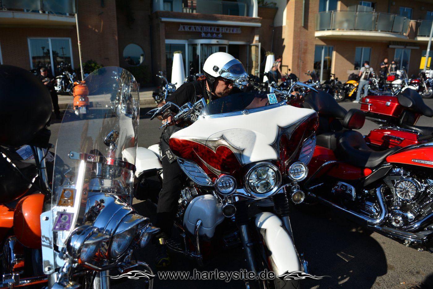 Harley 110th Rom Ostia 231